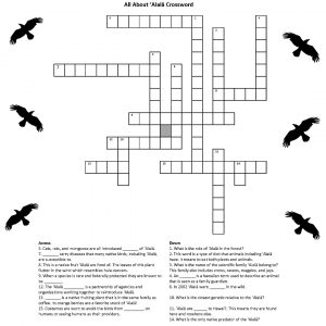 All About ʻAlalā Crossword Puzzle post thumbnail