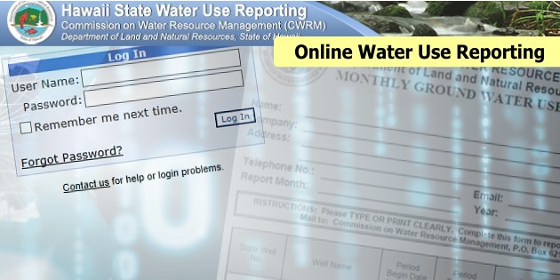 Water Use Reporting