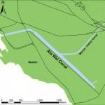 Map of Ala Wai Canal
