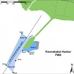 Map of Kaunakakai Harbor