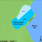 Map of Manele Harbor