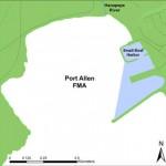 Map of Port Allen