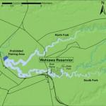 Map of Wahiawa Public Fishing Area