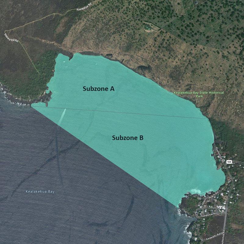 Map of Kealakekua Bay MLCD