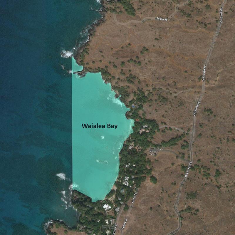 Map of Waialea Bay MLCD