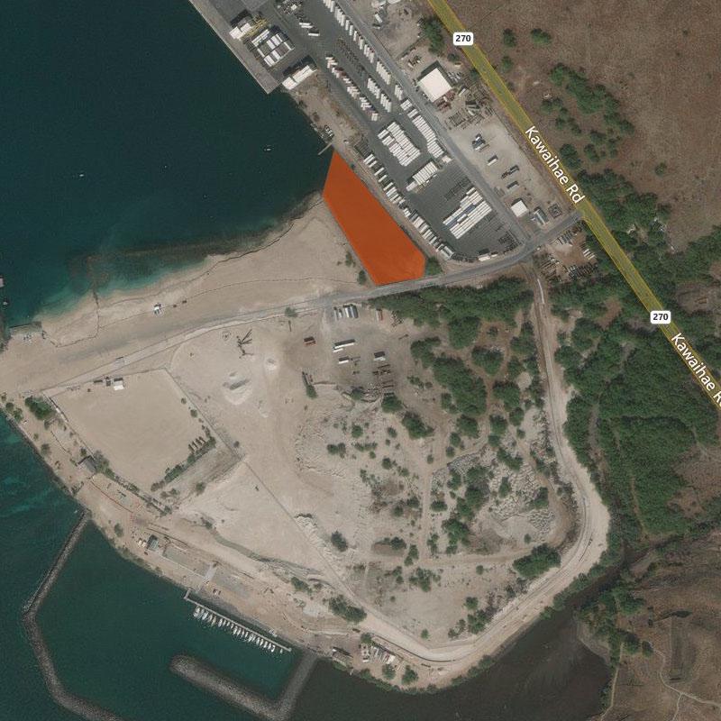 Map of Kawaihae Harbor