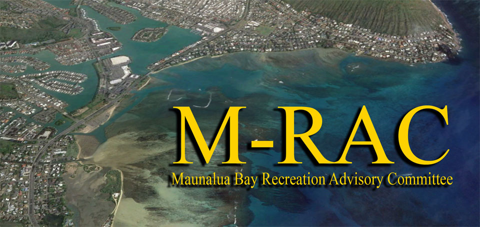 MAUNALUA BAY RECREATION ADVISORO COMMITTEE GRAPHIC