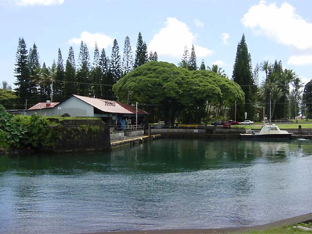 Wailoa Sampan Basin and Boat Harbor