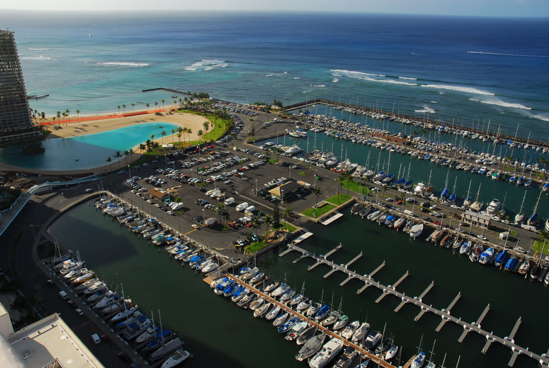 Ala Wai Small Boat Harbor