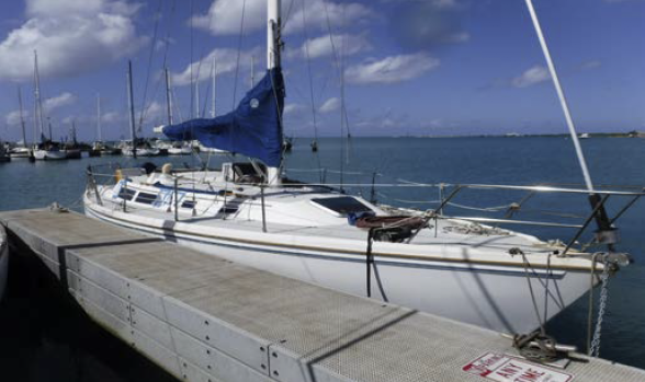 One of eleven vessel to be auctioned.