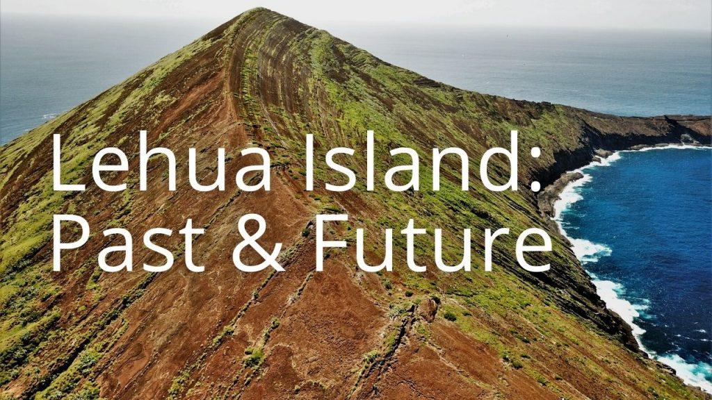 An image of Lehua island linking to a Lehua storymap