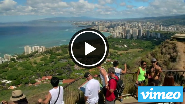 Diamond head vimeo video