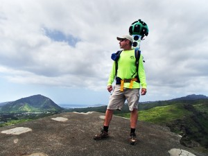 Google Trekker in Hawaii
