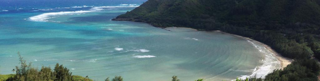 Kahana Bay view
