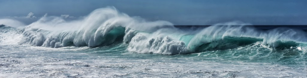Waves off Kaena Point