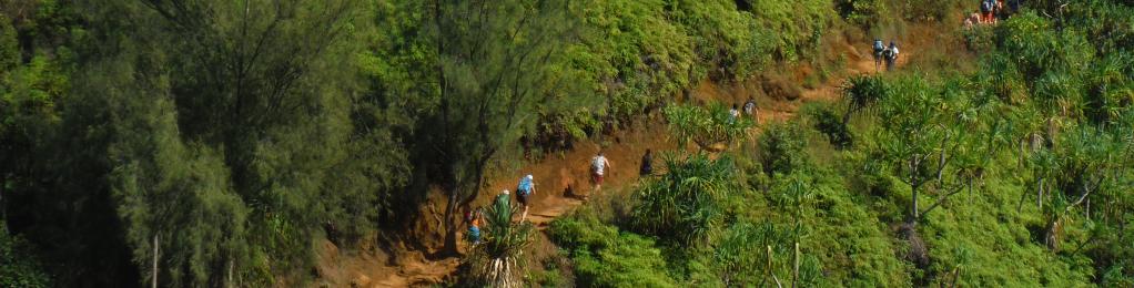 napali hiking