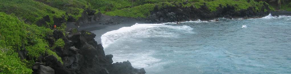 Waianapanapa shore