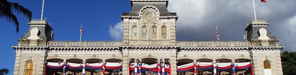 Iolani Palace exterior