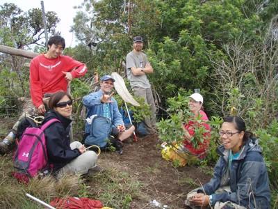Bioblitz participants