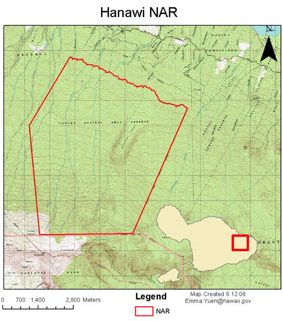Hanawi Map