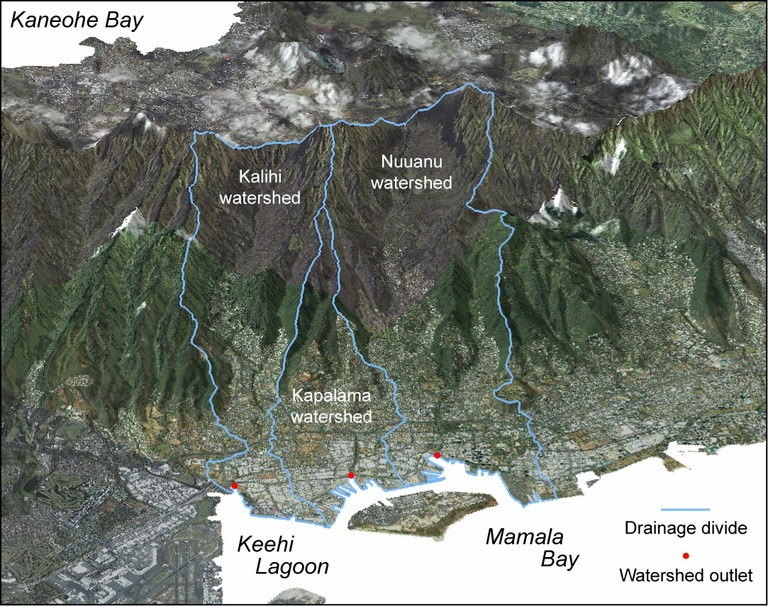 About Watersheds Kaneohe Bay