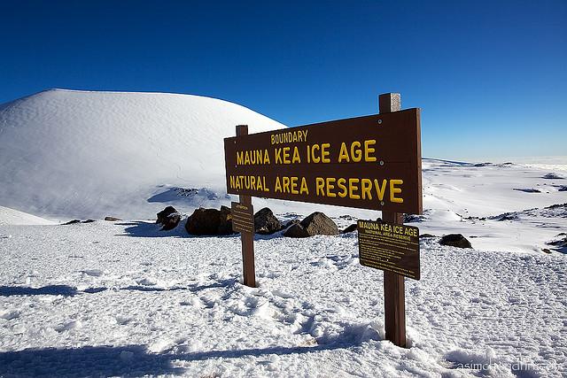 Mauna Kea Ice Age