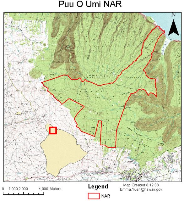 Puu O Umi Map