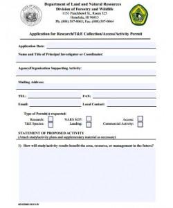 NICP Application