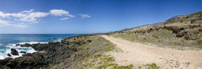view from waianae entrance