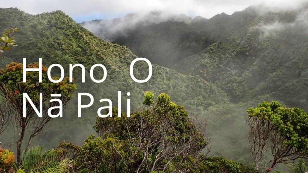 An image linking to a page on Hono O Nā Pali NAR