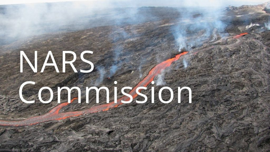An image of a NAR linking to a page called NARS Commission