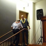 Gary Gill (DOH) introduces Governor Abercrombie