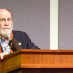 Governor Abercrombie at the proclamation of Hawaii Invasive Species Awareness Week 2014.