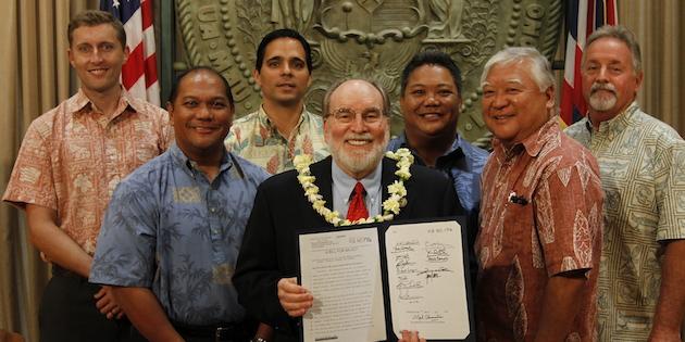 HISC Bill Signing