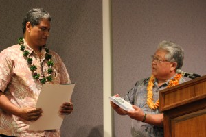 George Kaanana, Hawaiian Airlines and Representative Richard Onishi