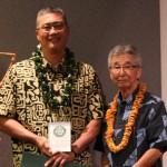 Rick Yamamoto and  Representative Clift Tsuji