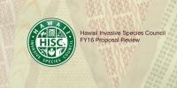 HISC FY16 funding