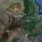 A map of RLWD detections on Hawaii Island, courtesy of UH Hilo College of Pharmacy