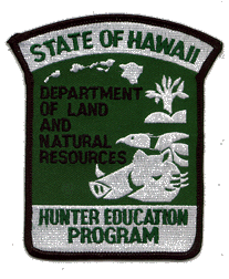 Hunter Ed Program Badge
