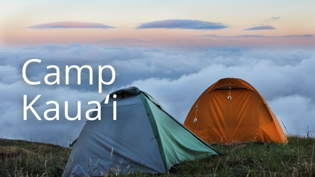 An image of tents linking to Camp Kauaʻi