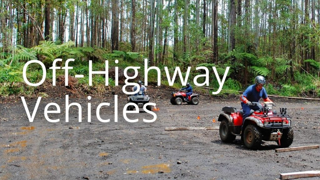 An image of  off-highway vehicles leading to the Off-Highway Vehicles page