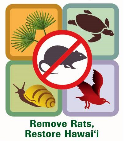 Remove Rats Restore Hawaii logo