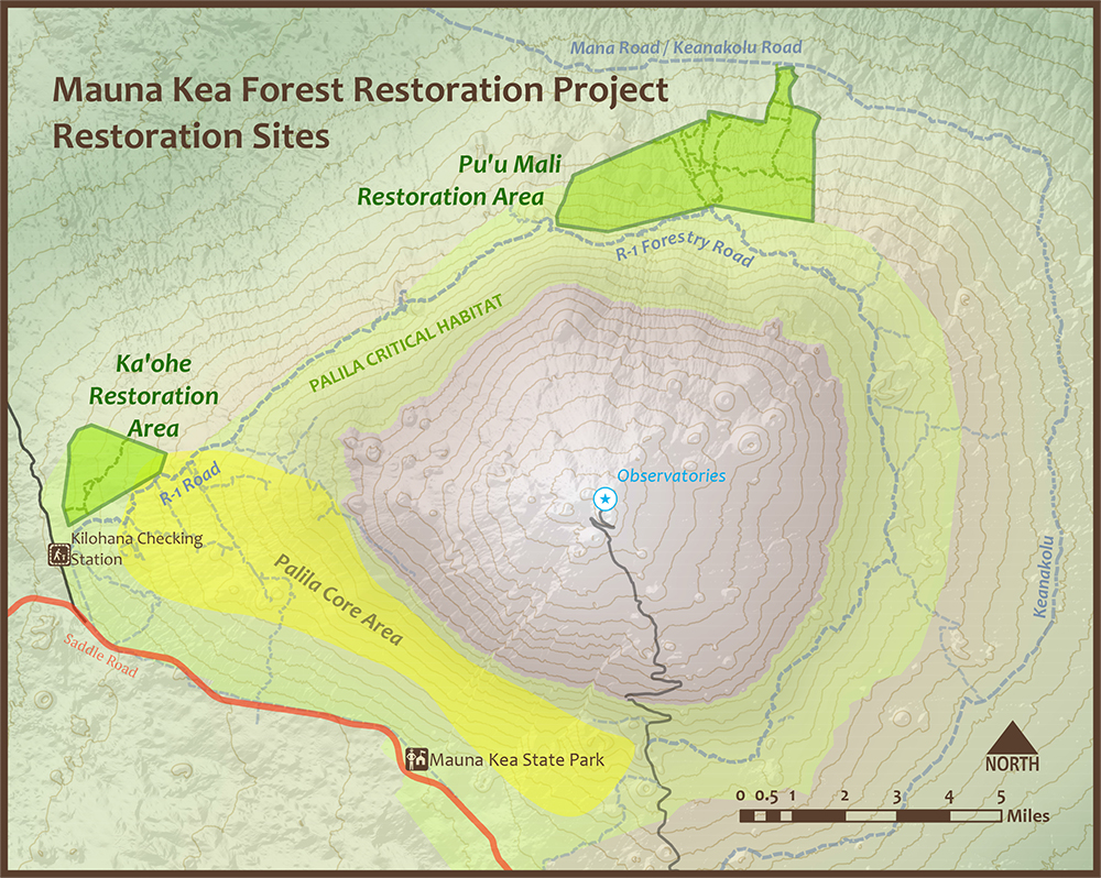 MKFRP Restoration Areas map