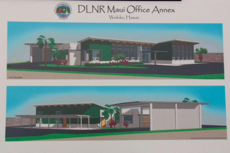 State Historic Preservation New Maui Annex Building To