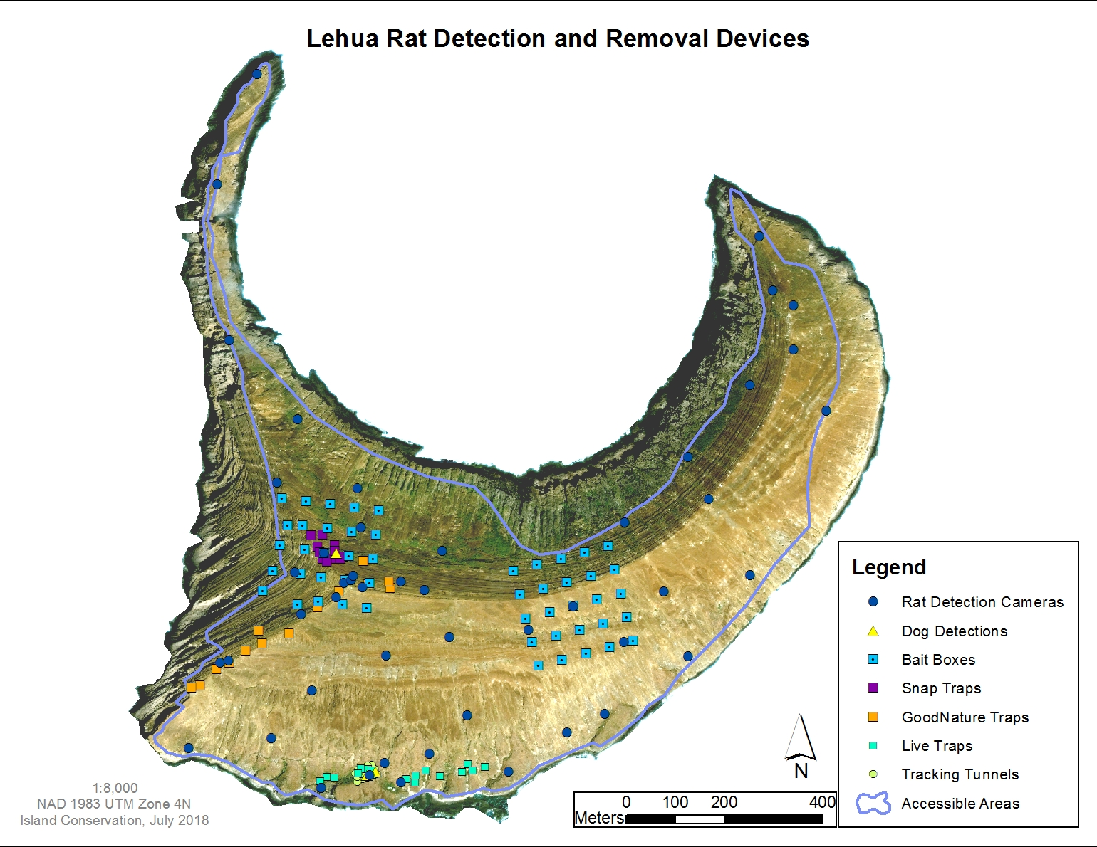 Map of Lehua