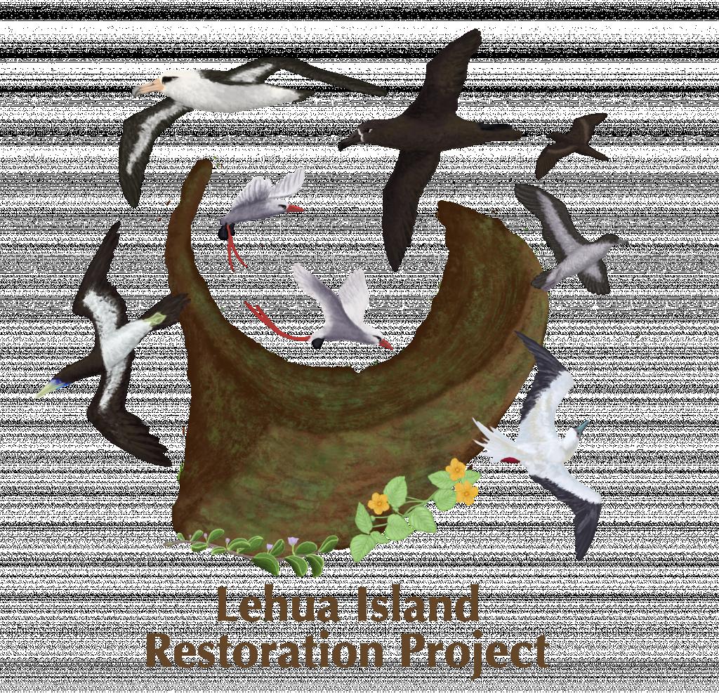A logo for the Lehua Island Restoration Project