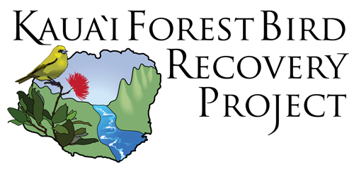 A logo of the Kauaʻi Forest Bird Recovery Project