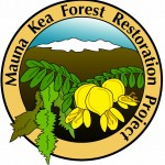 A logo of the Mauna Kea Forest Restoration Project