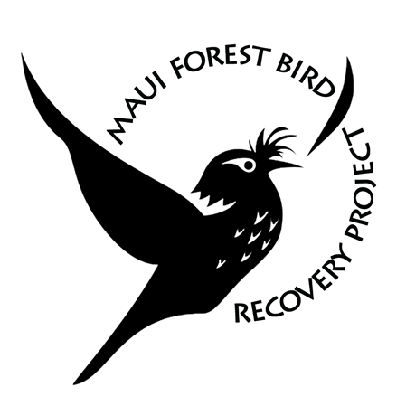 A logo of the Maui Forest Bird Recovery Project