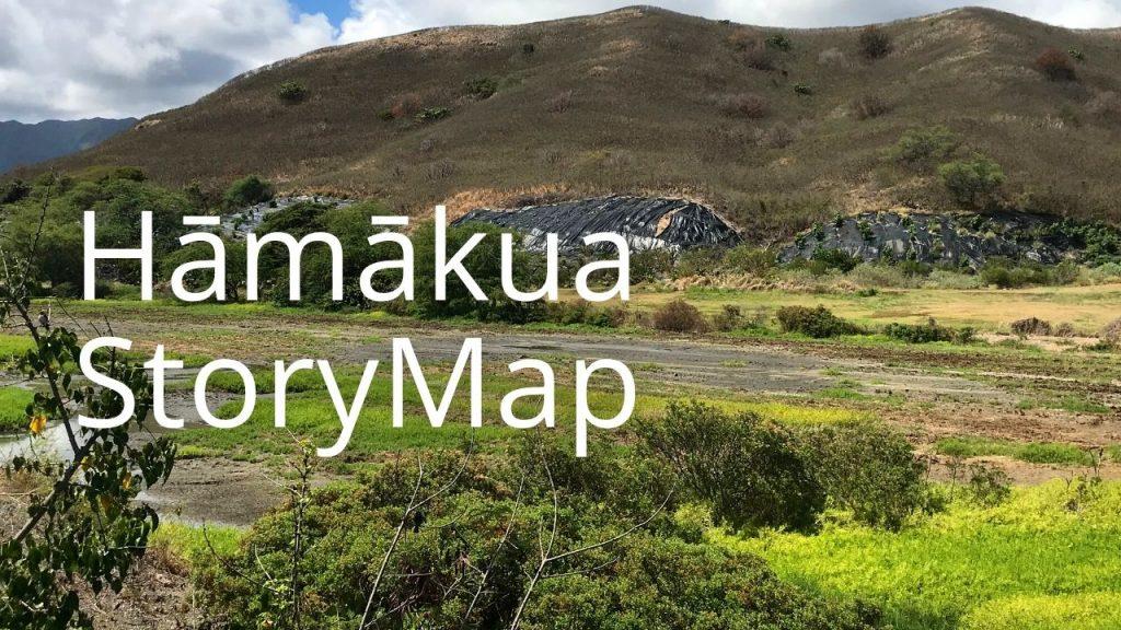 An image of Hāmākua Marsh linking to a StoryMap